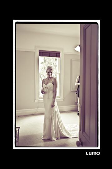Sarah - silk crepe faille - Oamaru bridal - Lumo Photgography