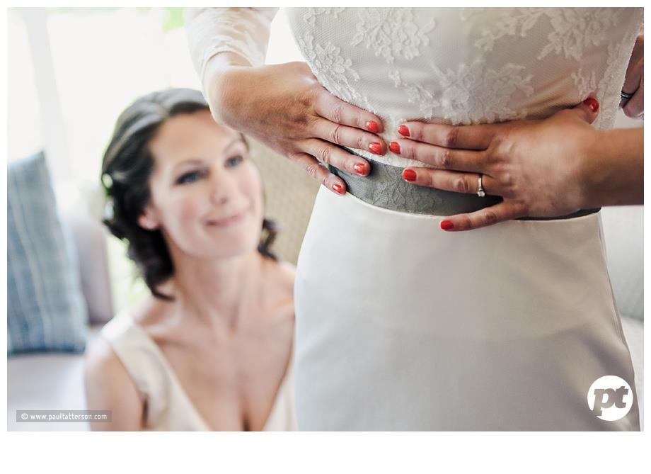 Sarah - silk duchess - Trents Christchurch Bridal - Paul Tatterson Photography
