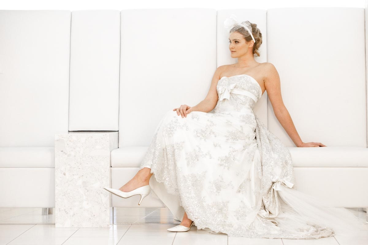 jess - the george hotel - silk satin crepe, sequin tulle - tandem photography