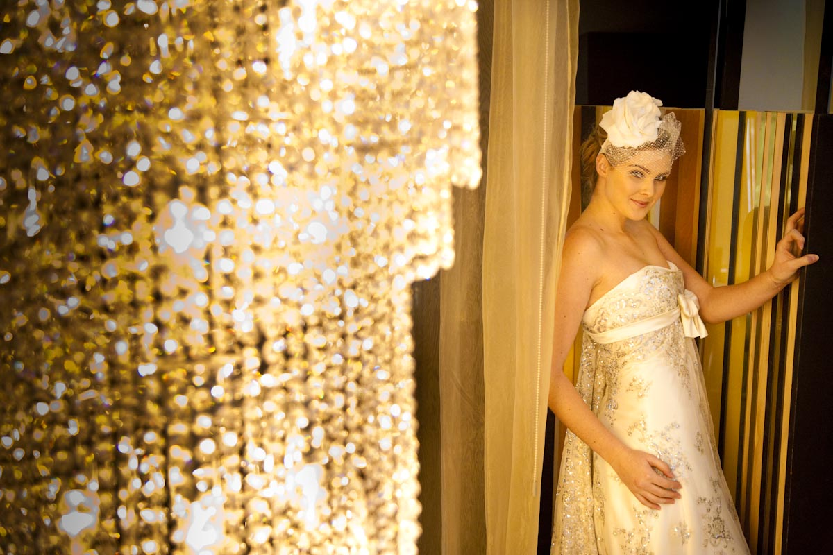 jess - silk satin crepe, sequin tulle - the george hotel shoot - tandem photography
