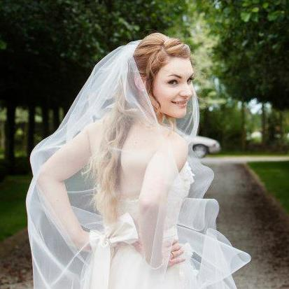 zia - silk satin crepe, tulle - christchurch wedding - sussanah blatchford photography