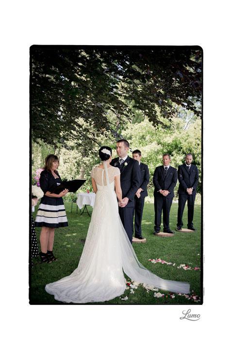 Rebecca - silk satin crepe, lace - Christchurch bridal - Lumo Photography