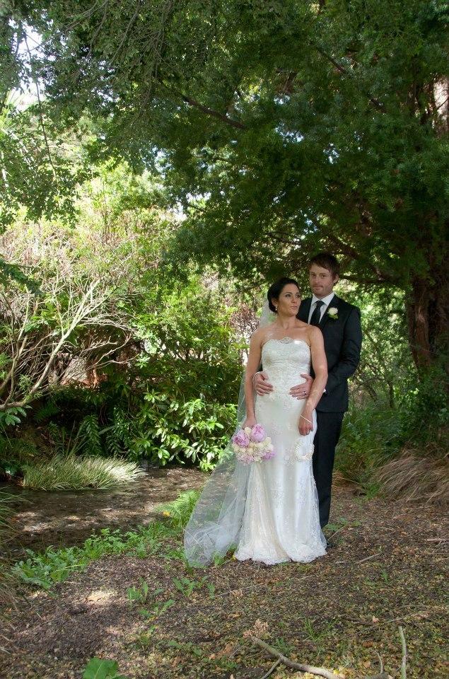 Erica - silk satin crepe, beade lace - christchurch bride - friend photographer