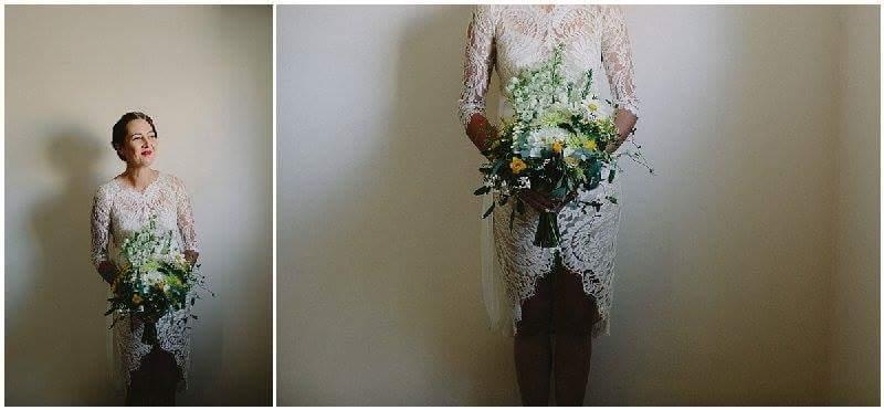 Emma - silk satin crepe, french lace, silk chiffon - Christchurch wedding - Susannah Blatchford Photography