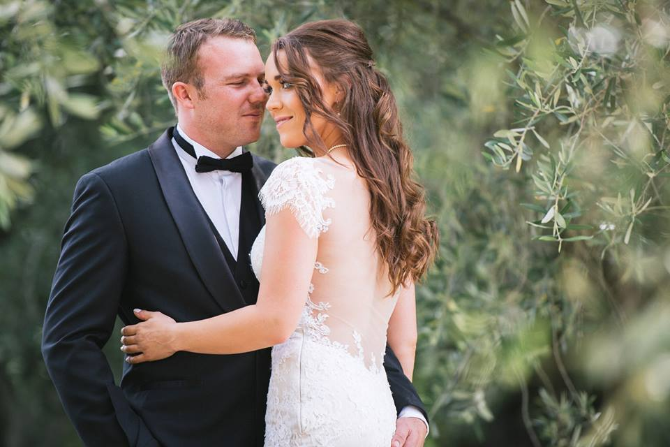 Ellie - satin, lace, tulle - Christchurch Bride - Joseph O'Sullivan Photography