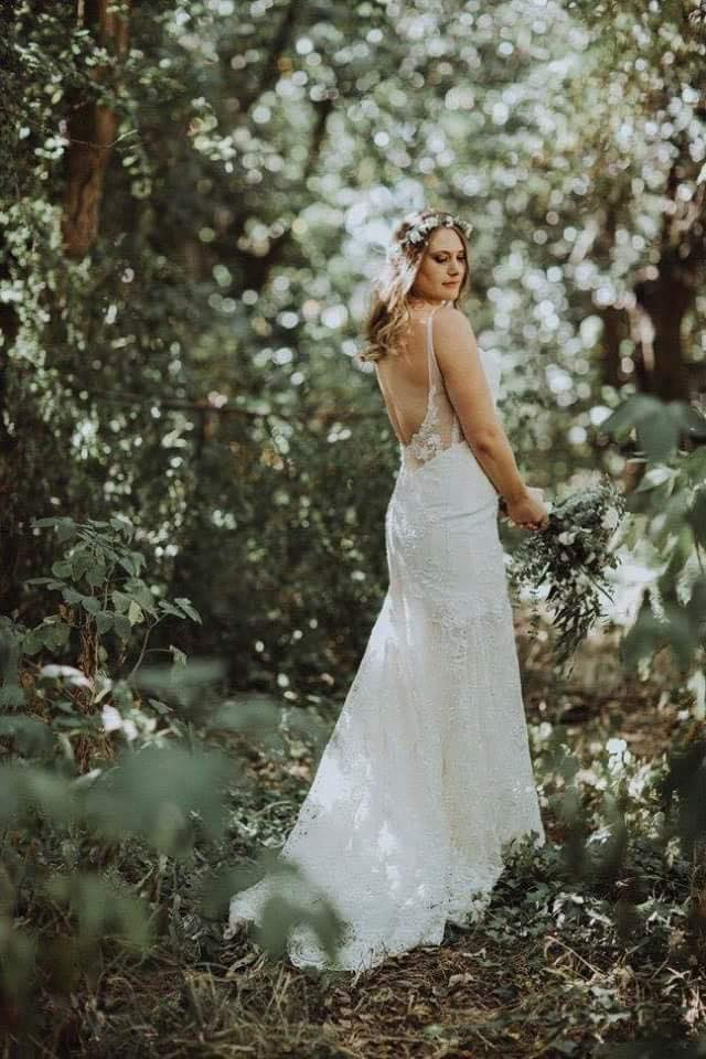 Jana - georgette crepe, lace, tulle - Christchurch bride - Susannah Blatchford Photography