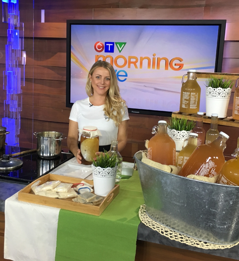 Kristin slaying 'booch at CTV news.