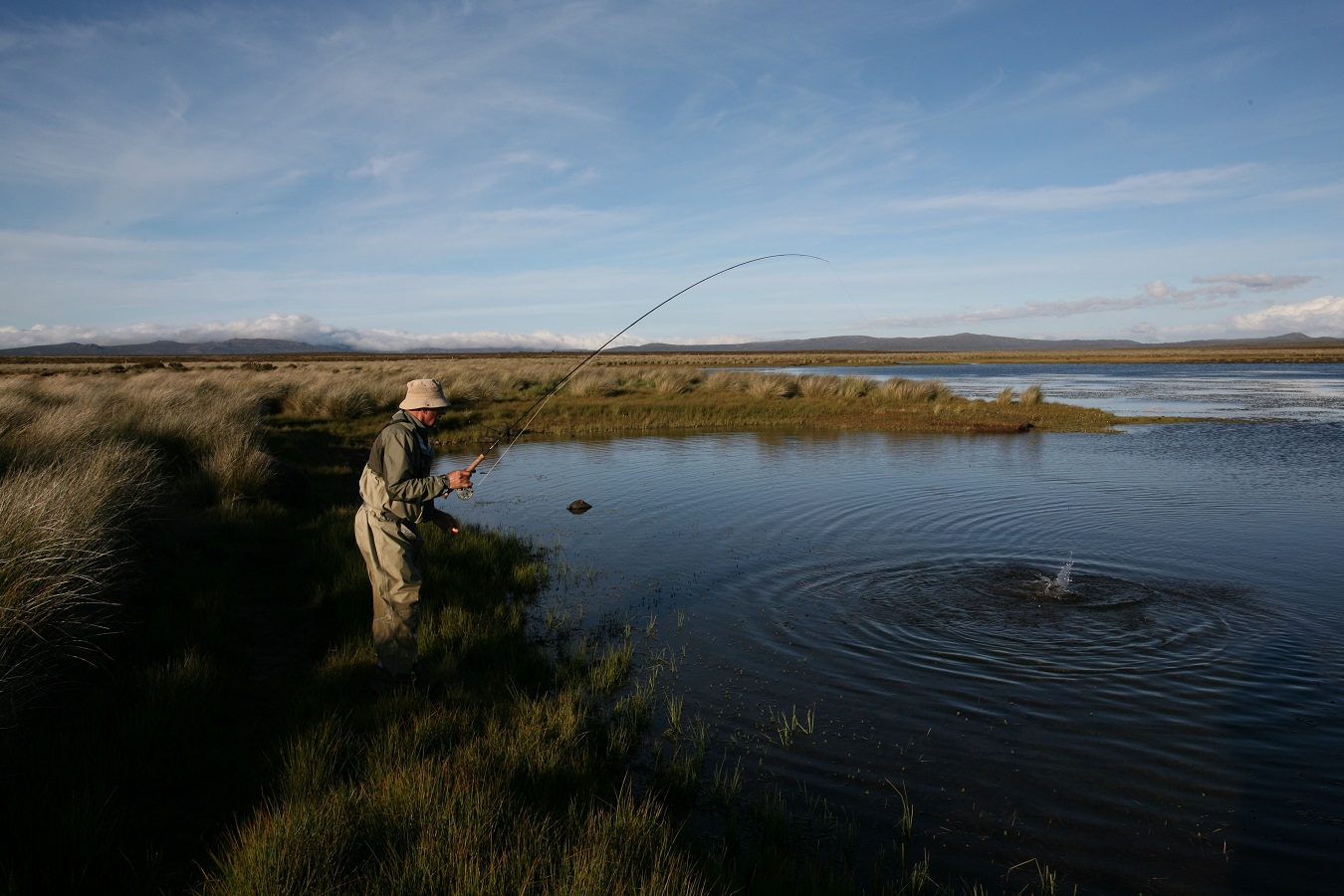 Rainbow Lodge - success on Western Lakes tailing trout