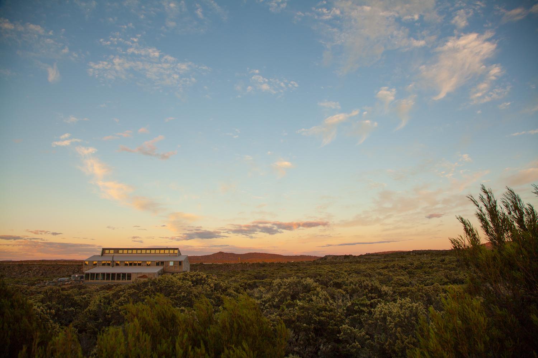 Thousand Lakes Lodge - sunset