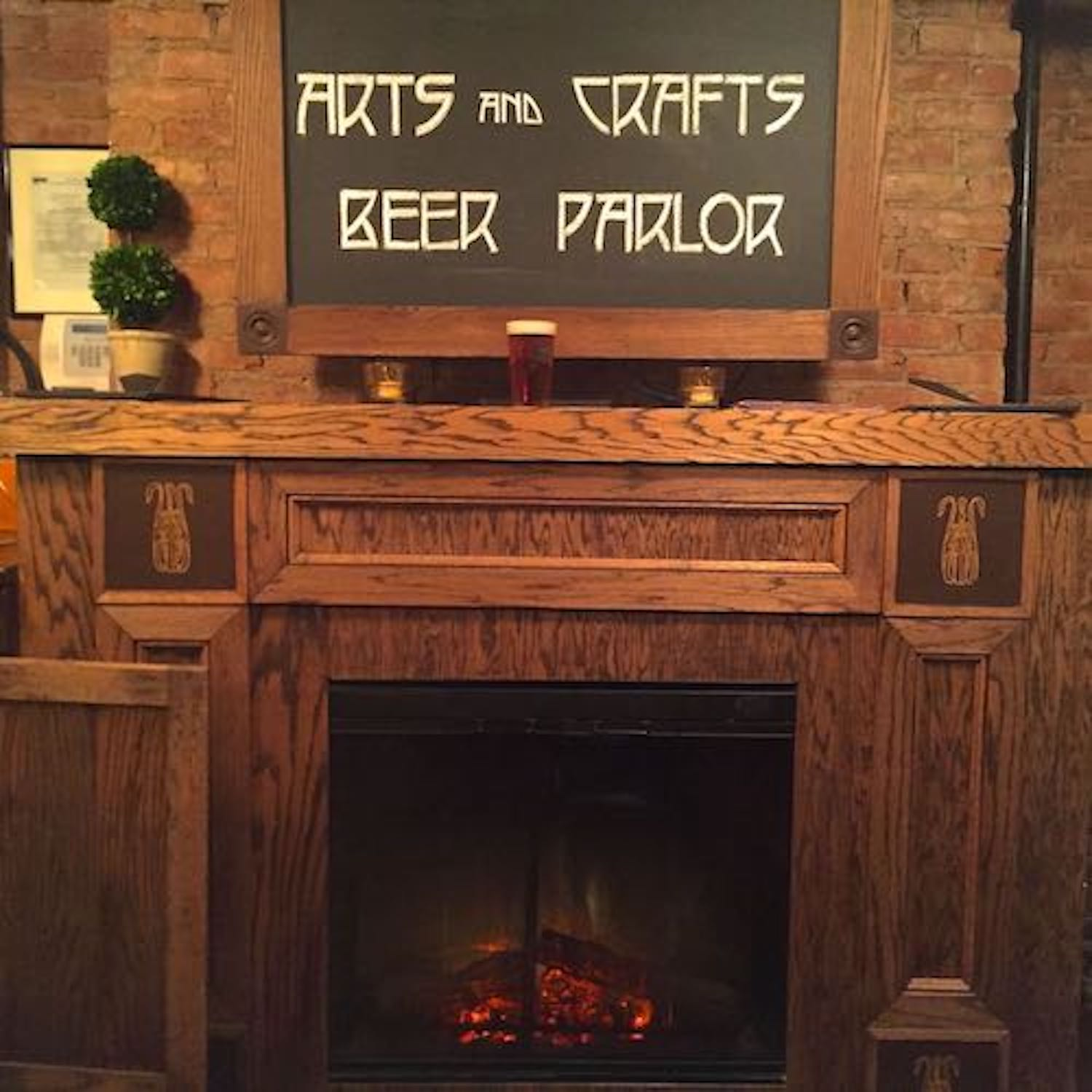 Fireplace with beer.jpg