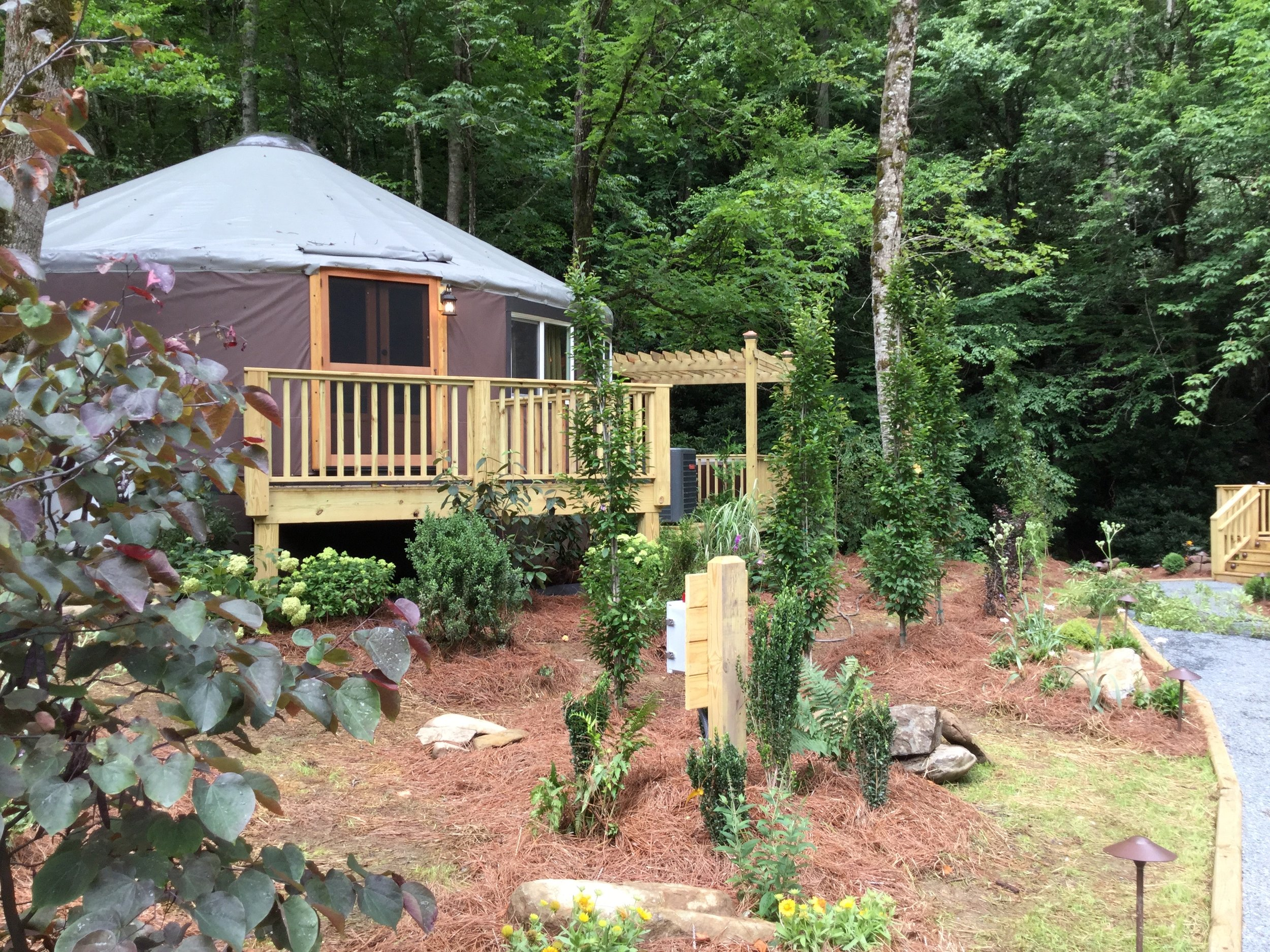 Luxury Yurt For Rent Lake Nantahala Cabin Rental Yurt floor plans are hand drawn by our yurt specialist, dana. luxury yurt for rent lake nantahala