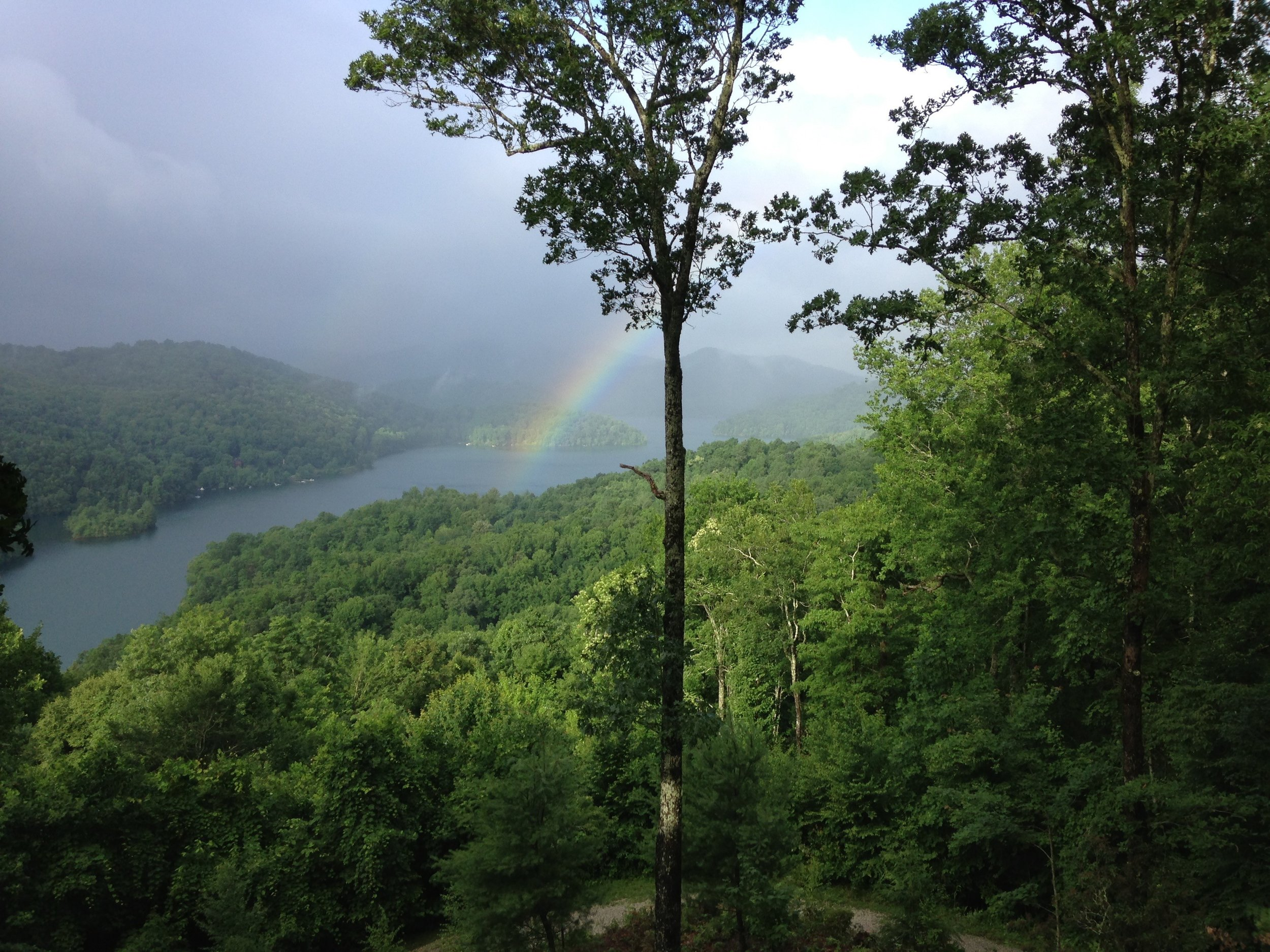 Rainbow over Lake Nantahala.jpg