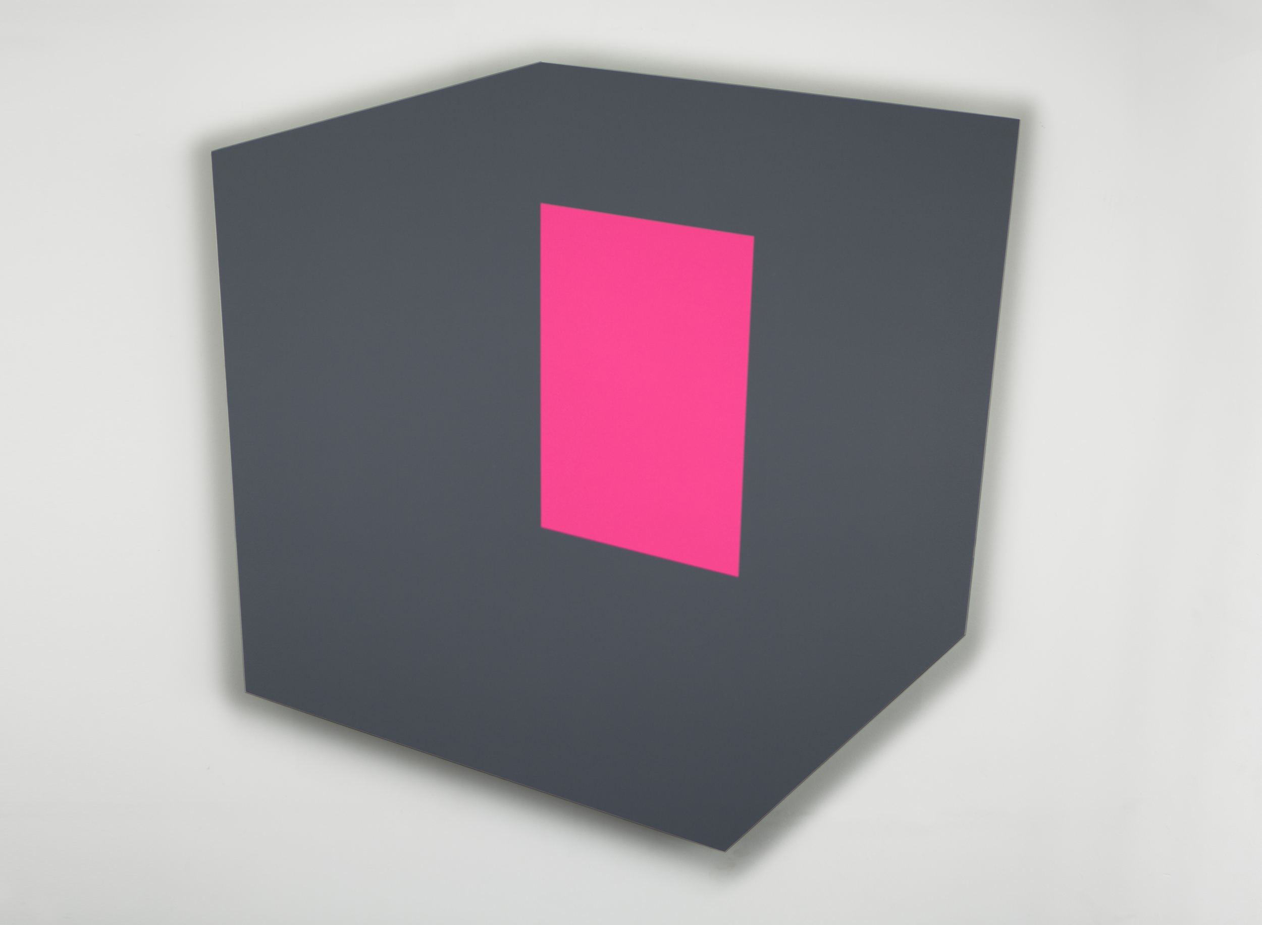 Pink Wall  2014 Acrylic on panel 36 x 37.5 in (92 x 95 cm)