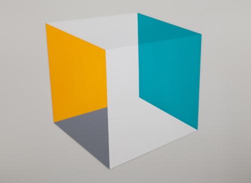 Sunnyside  2014 Acrylic on panel 56 x 57 x 5.5 in / 122 x 145 x 14 cm