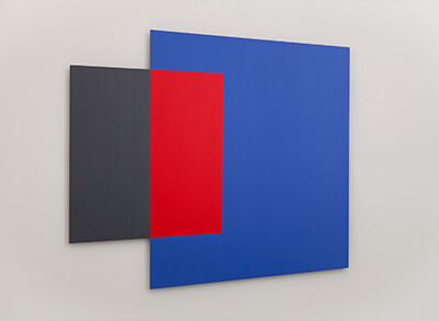 Blue Red Gray