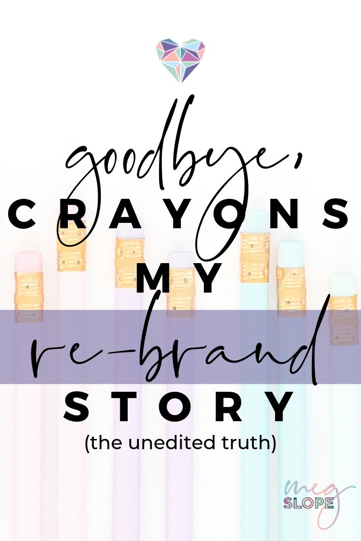 Goodbye Crayons