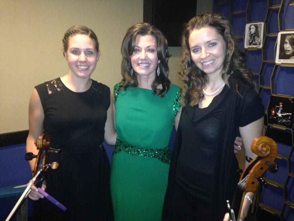 Performing with Amy Grant