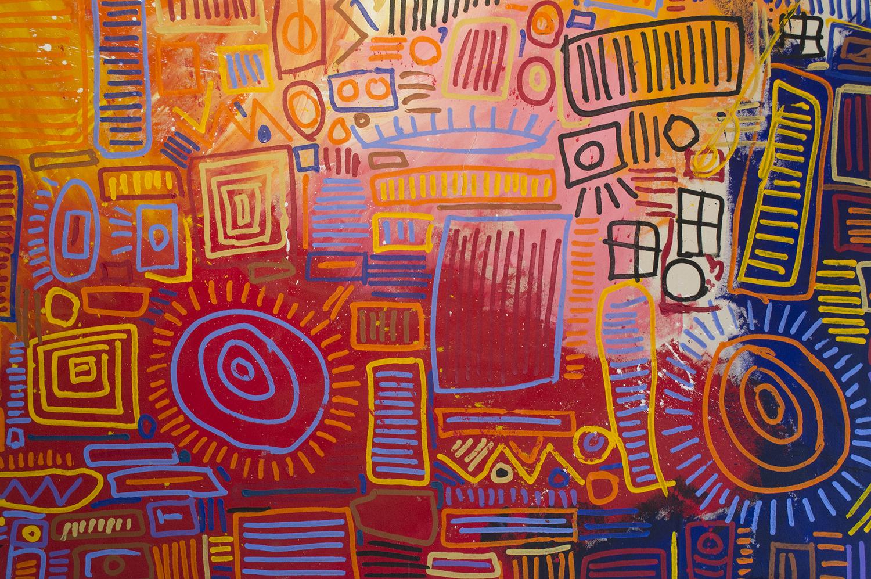 """Acrylic on Canvas, 48x72"""""""