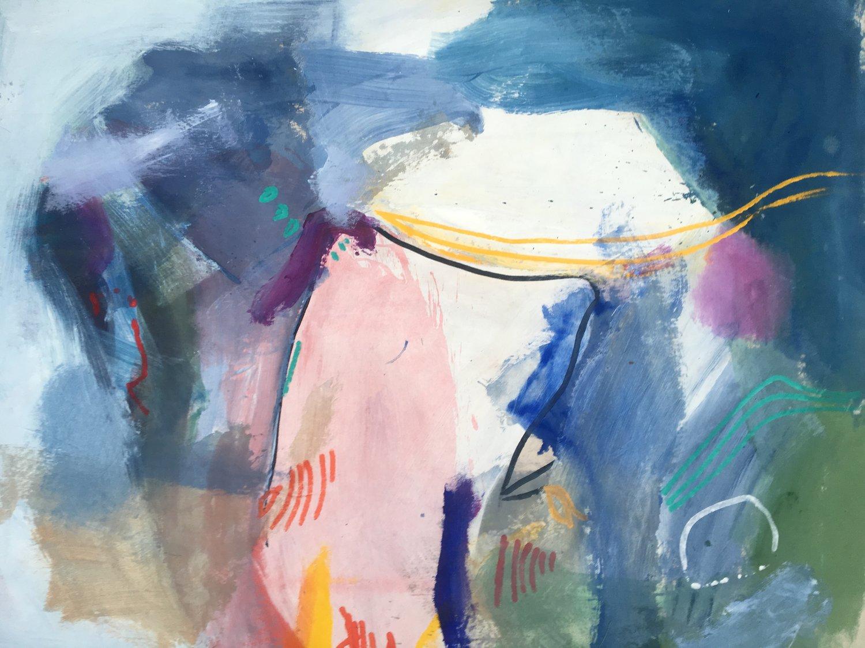 """Acrylic on canvas, 46x66"""""""