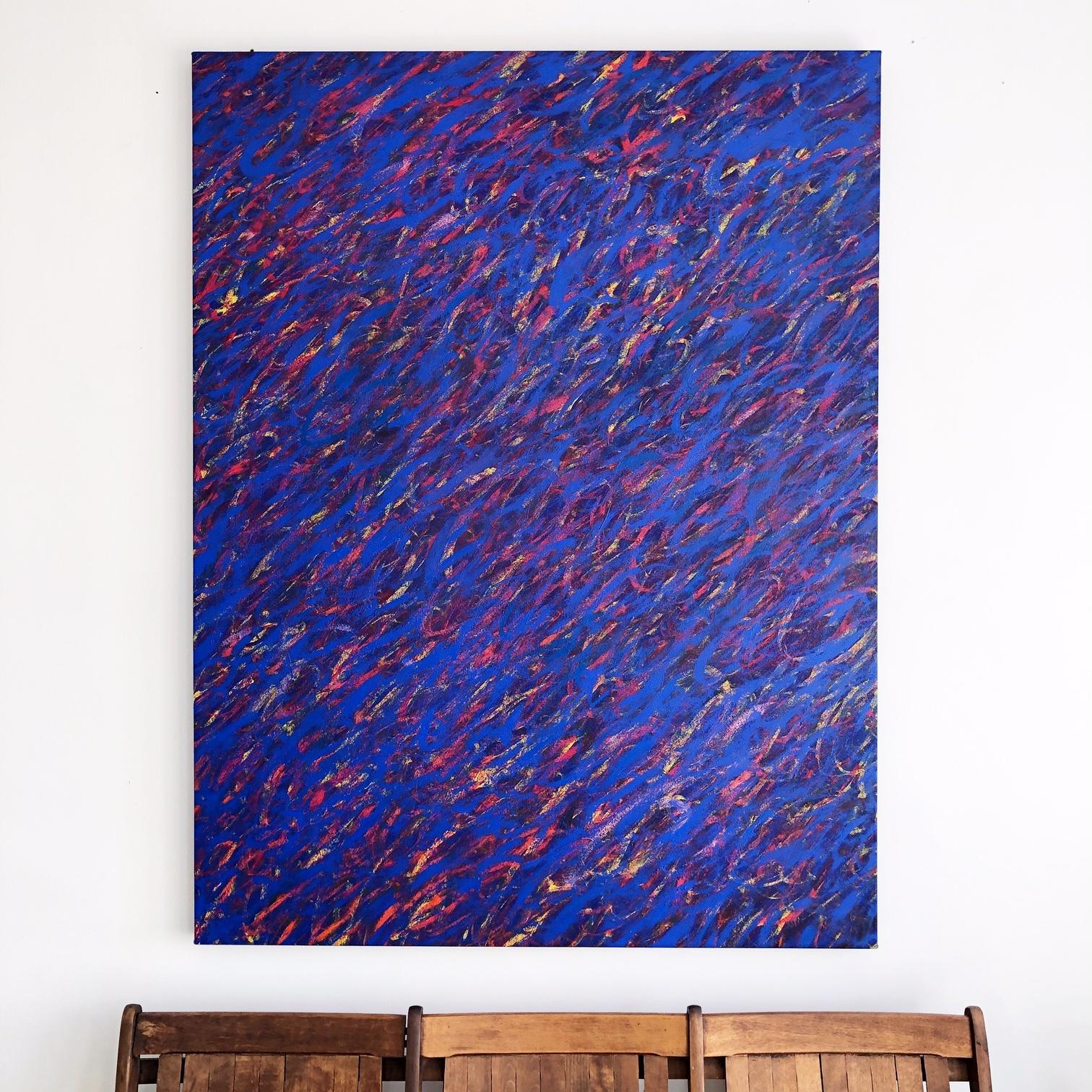 "Freedom , 60x46"" Acrylic on Canvas"