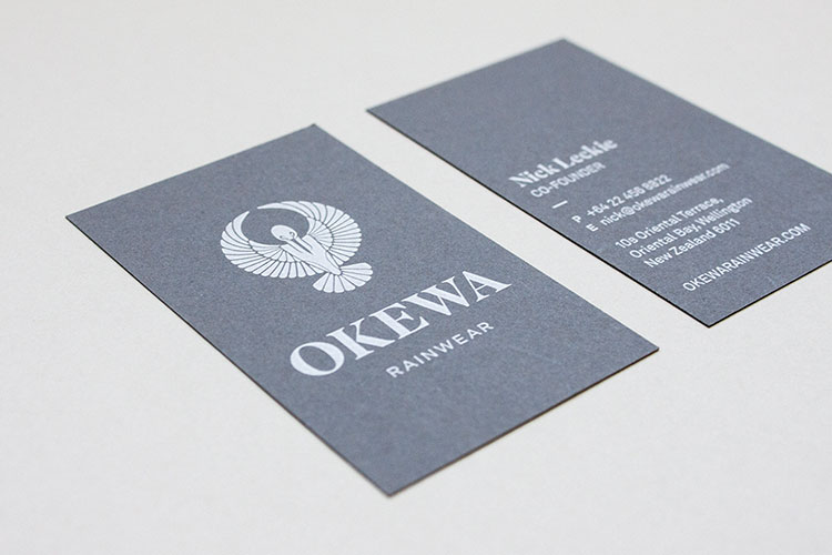 Okewa Business Cards