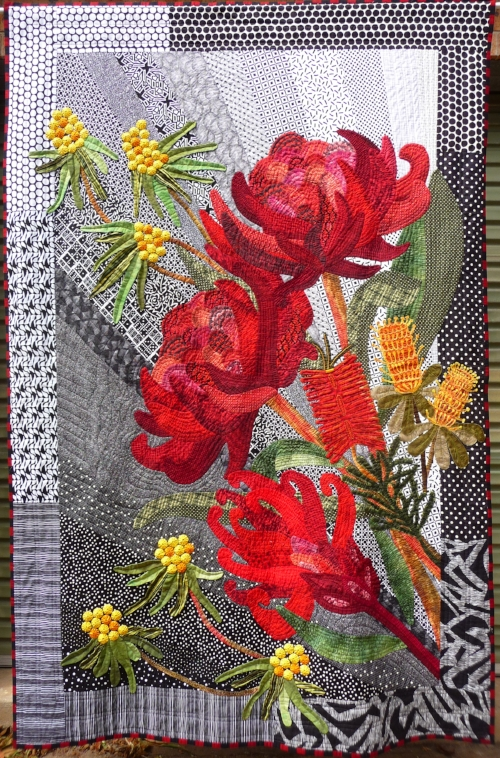 Waratah,s And Wildflowers For Dad.