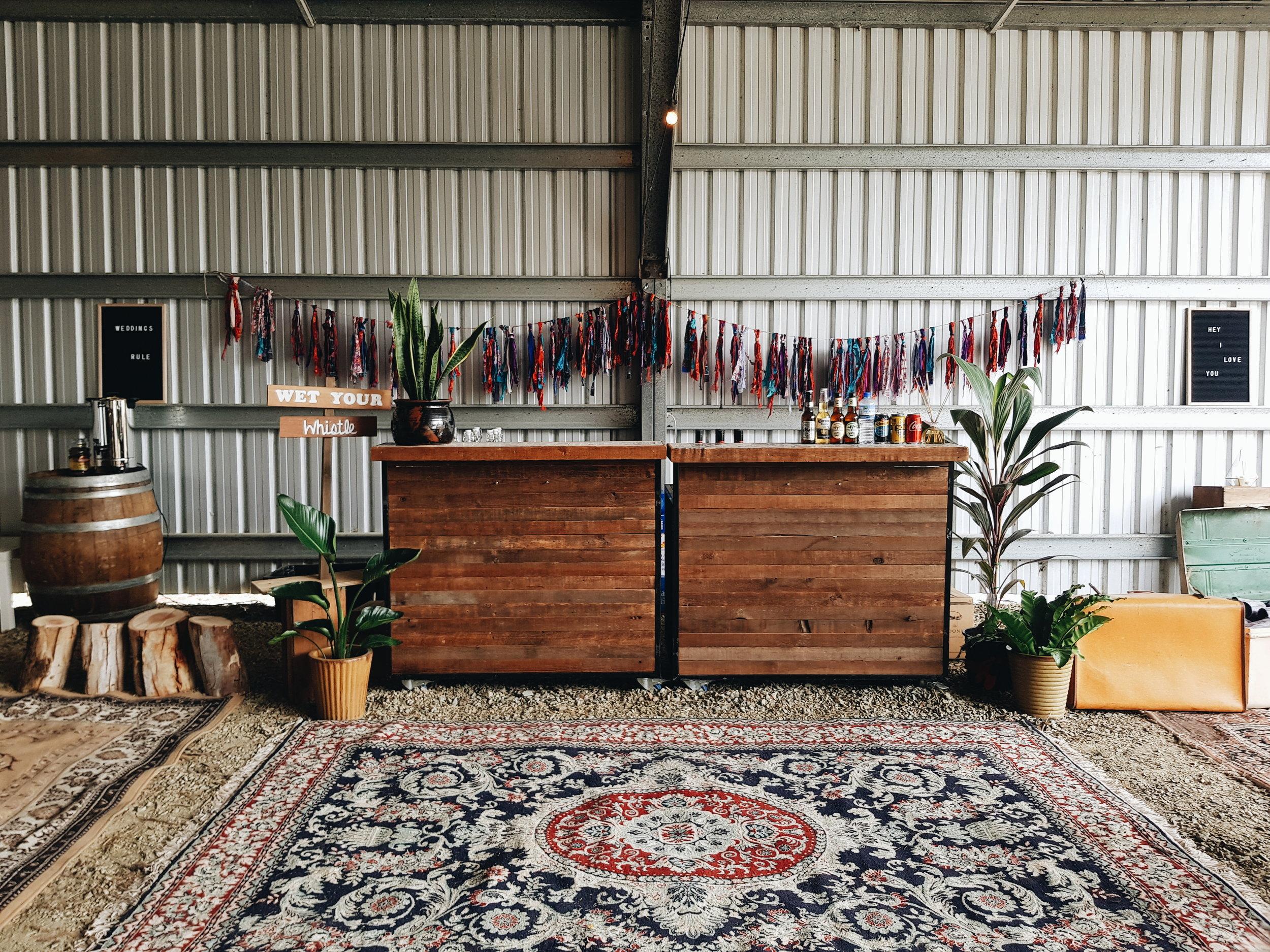 Moroccan Tiled Bars
