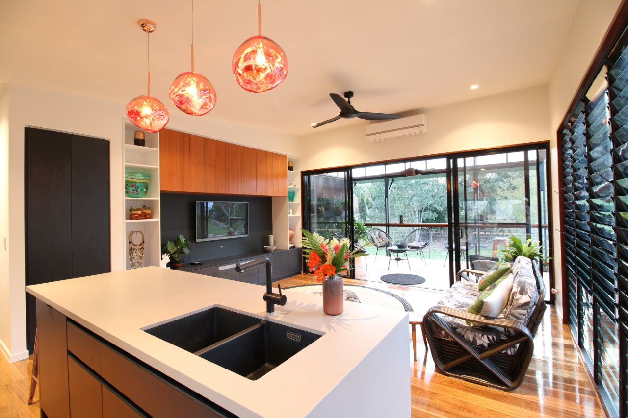 Interior view of Kitchen/ Lounge Area