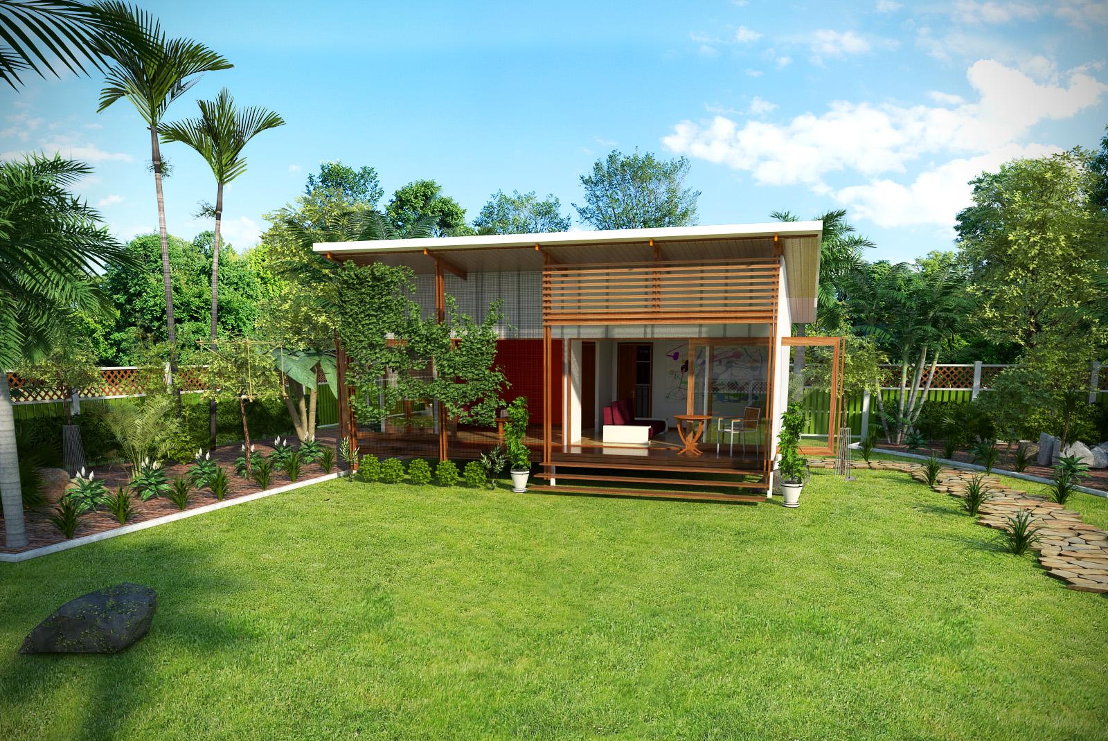 Backyard Pavilion Queensland Baahouse Granny Flats Tiny