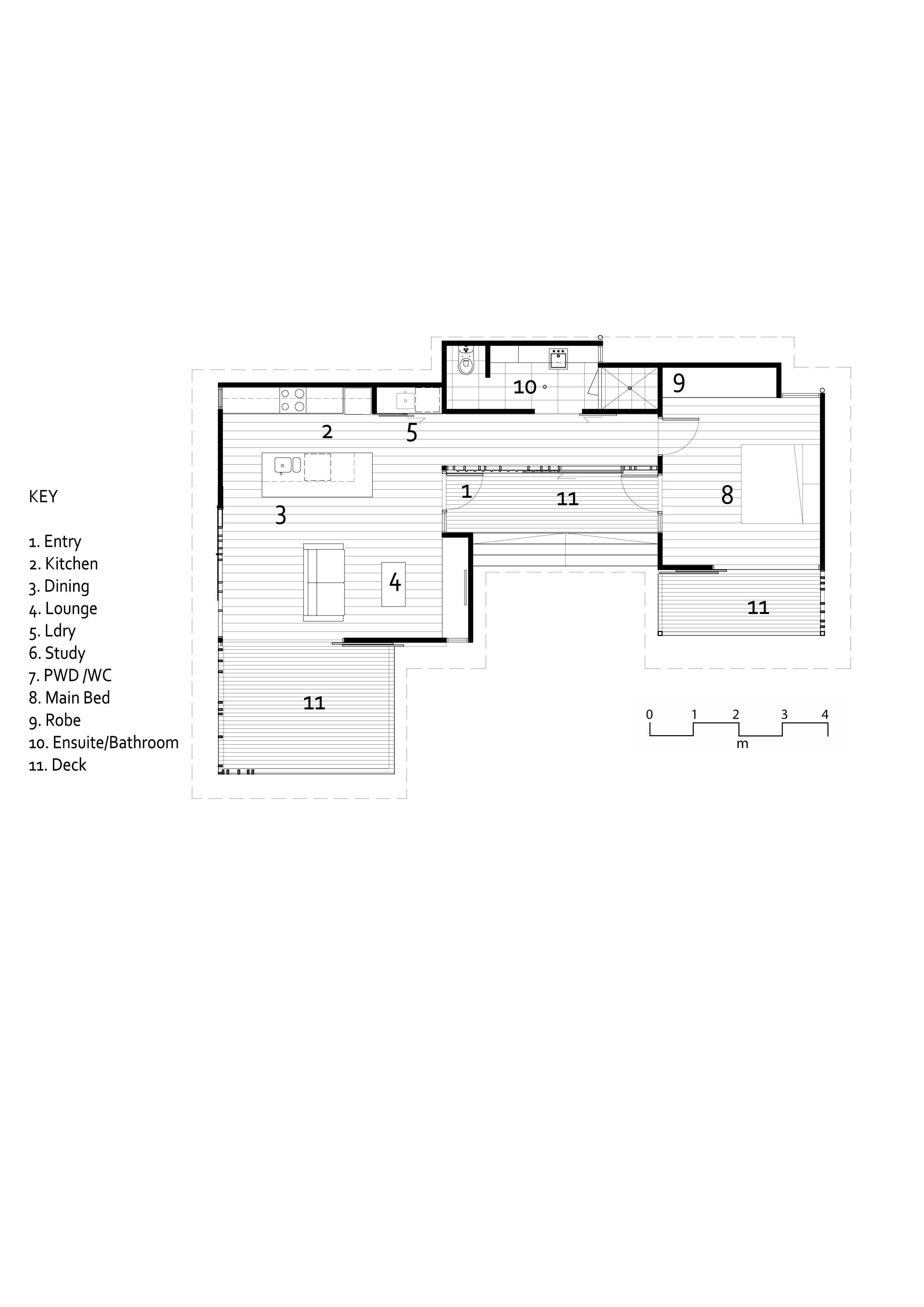 60sqm 1 Bedroom Lincoln Design