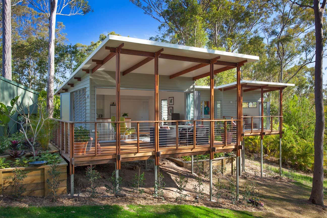 The Country House Company award winning small homes australia baahouse / granny flats