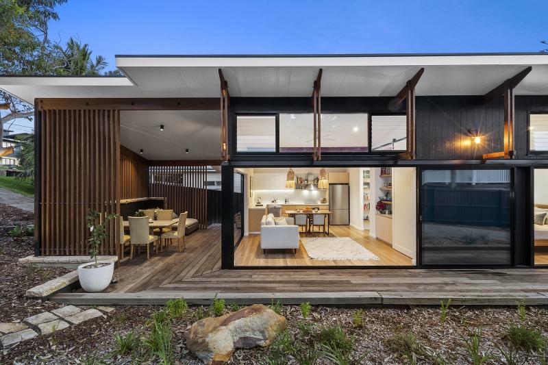 Award Winning Small Homes Australia Baahouse Granny Flats Tiny House Small Houses Brisbane Australia Wide