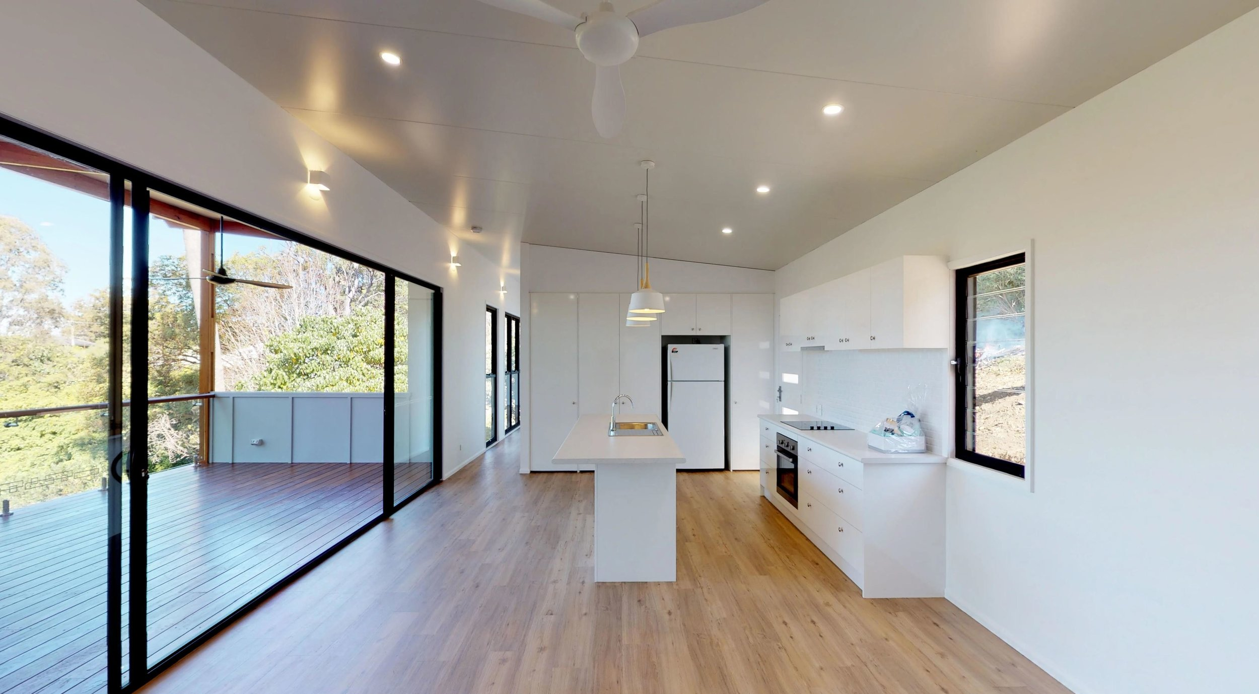 Kitchen/ Lounge view