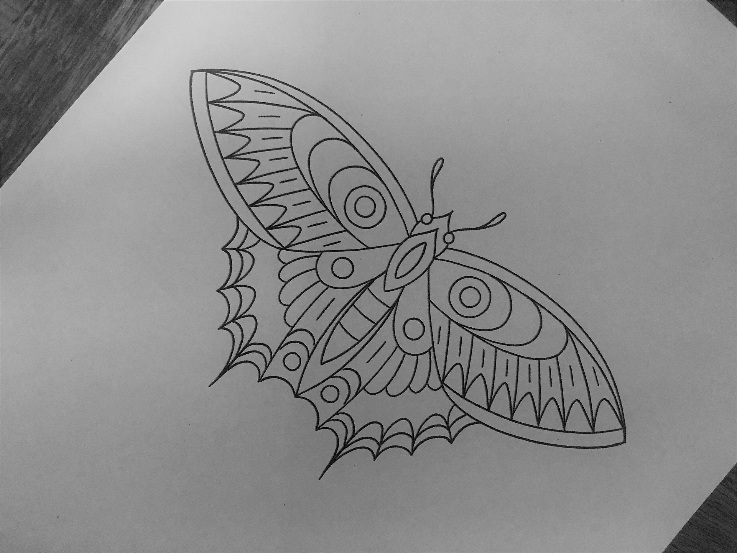 Image: Leonie New from Chapel Tattoo