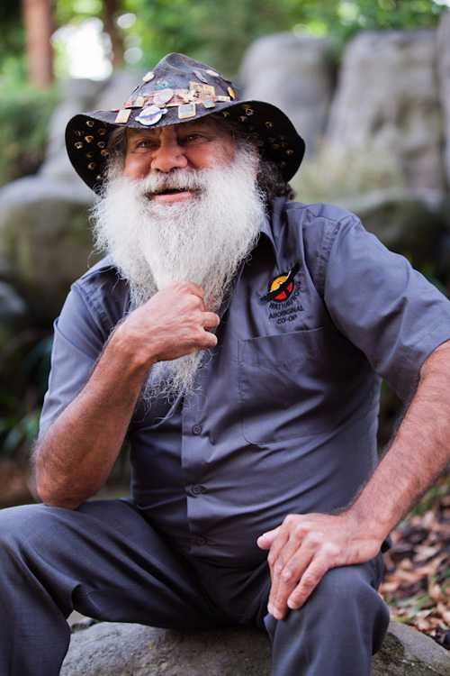 David Tournier, photo courtesy of the Wathaurong Aboriginal Co-Operative