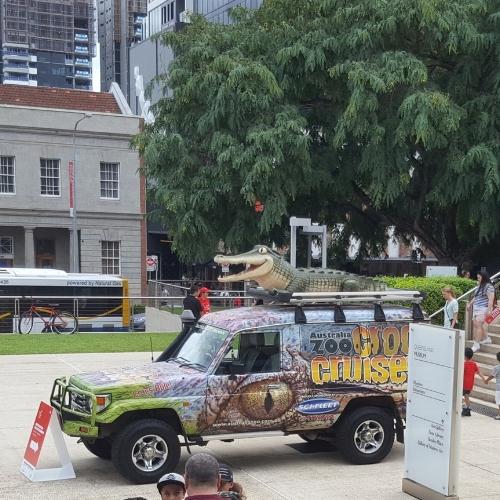 Australia Zoo's Croc Cruiser!