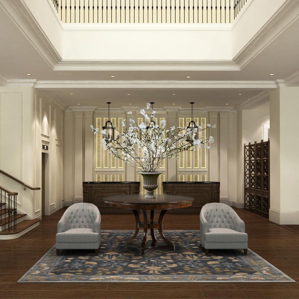 Attitude Asia Interior Design Luxury comercial interior by Suzanne Wong