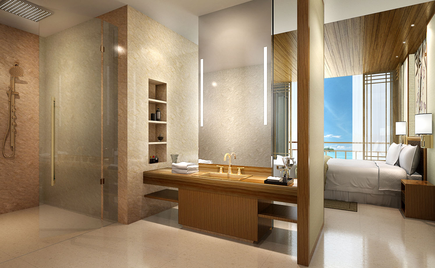 Attitude Asia Interior Design Luxury interior by Suzanne Wong Citic Hyatt Hainan