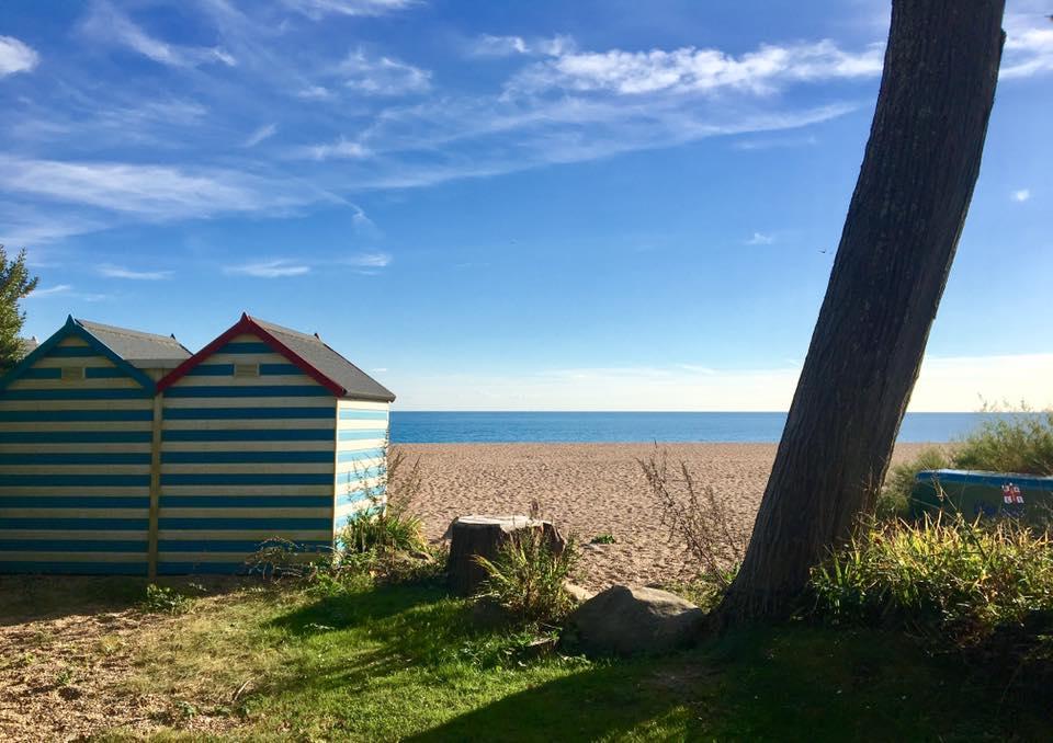 Blackpool Sands. Devon in November!