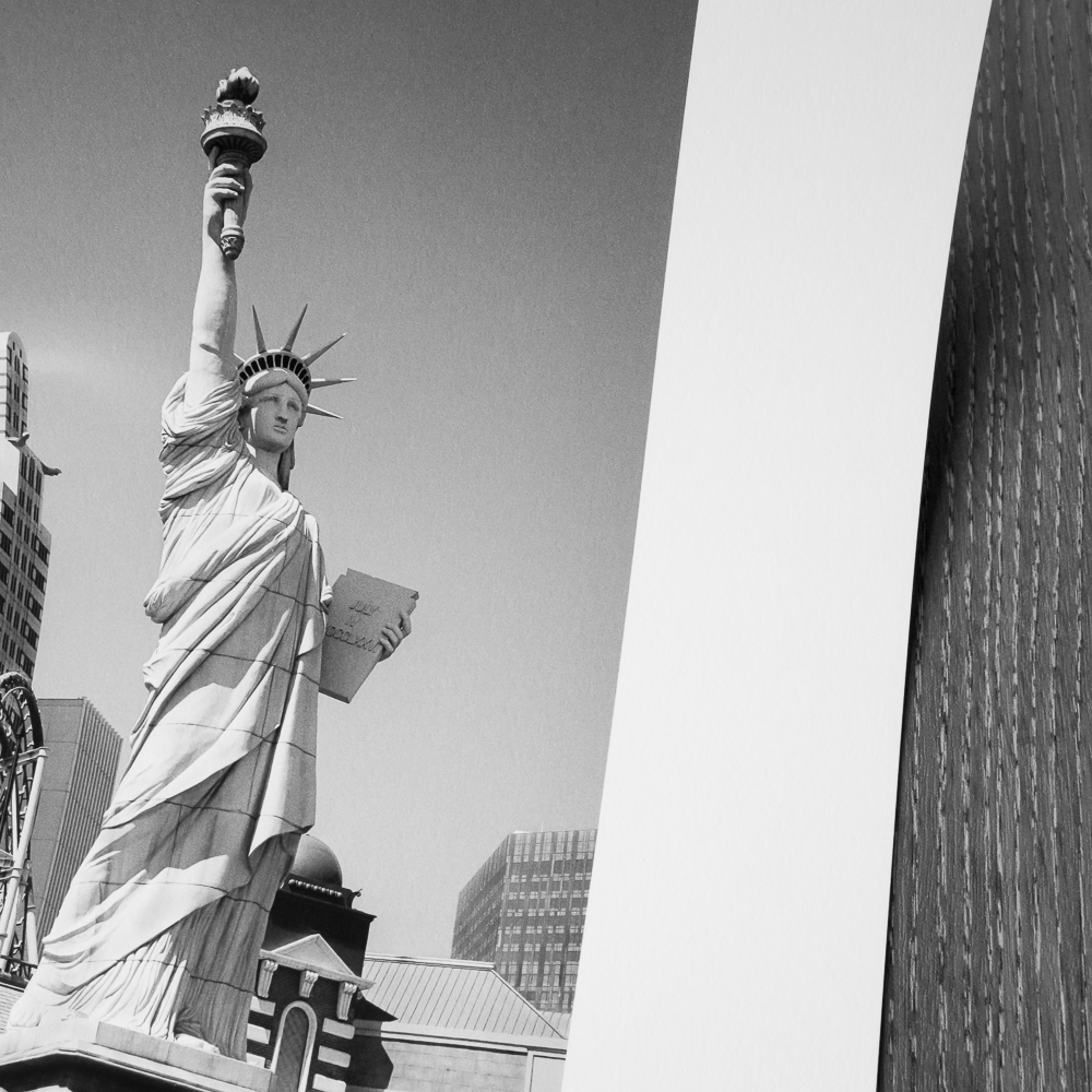 Statue of Liberty, Las Vegas  print on Epson Archival Matte paper