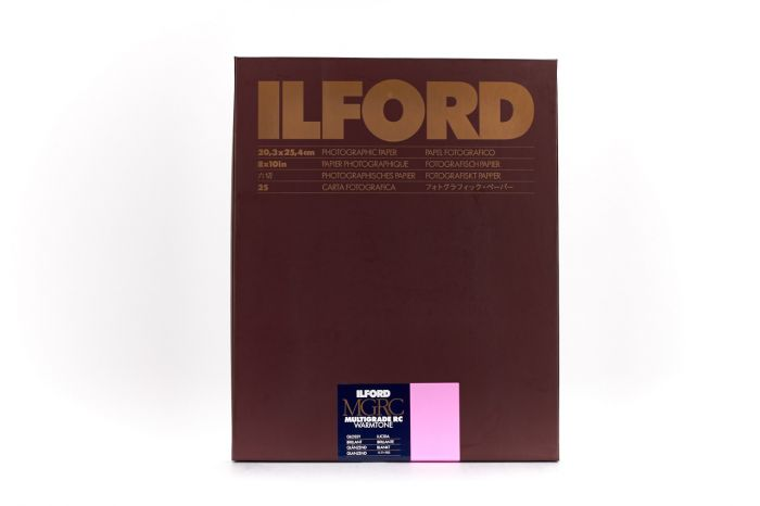 Ilford Multigrade Resin Coated Warmtone paper