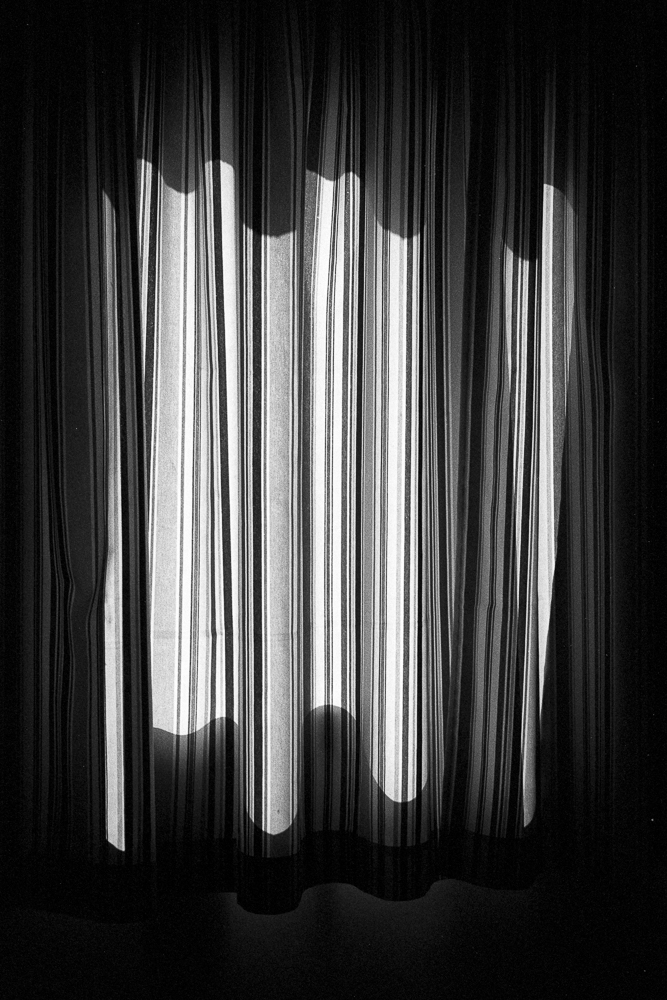 Curtain and Shadows, HP5+ film in Ilfotec HC
