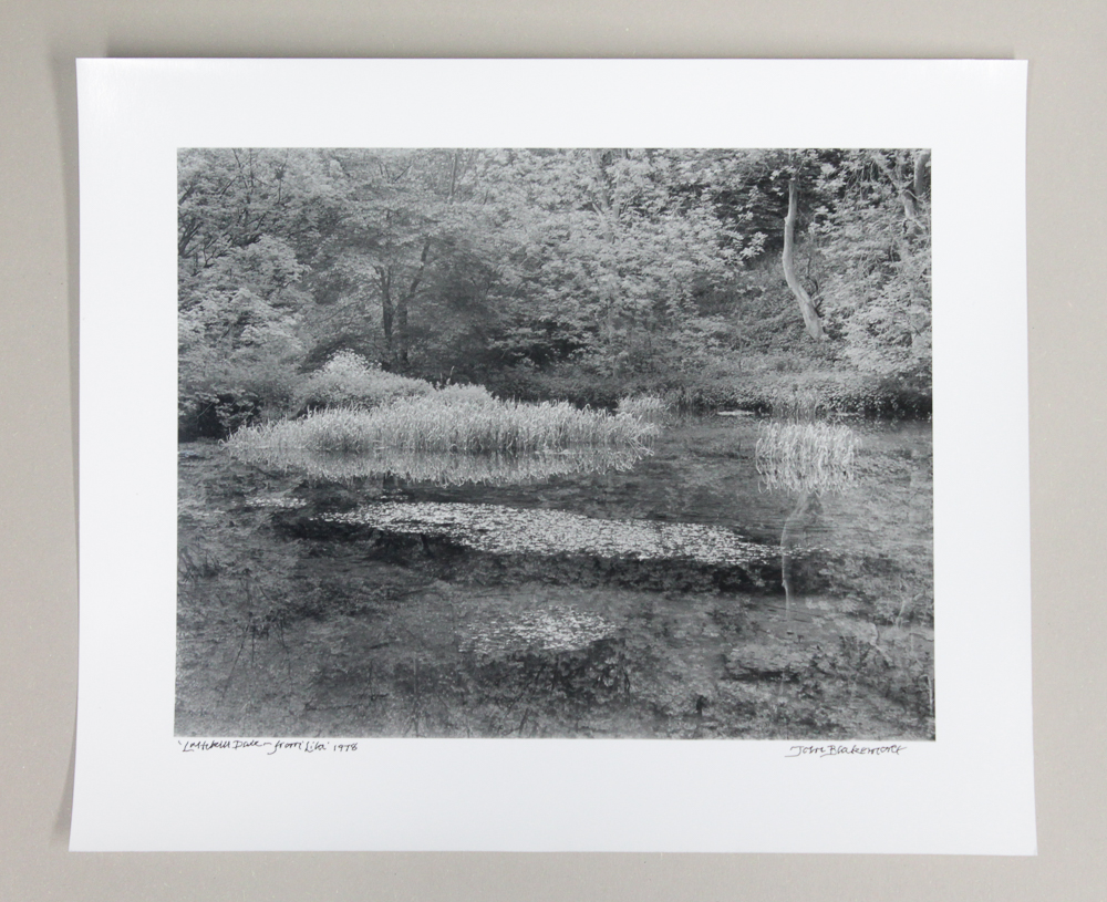 'Lathkill Dale - from Lila', 1978 by John Blakemore. Print on fibre based darkroom paper.