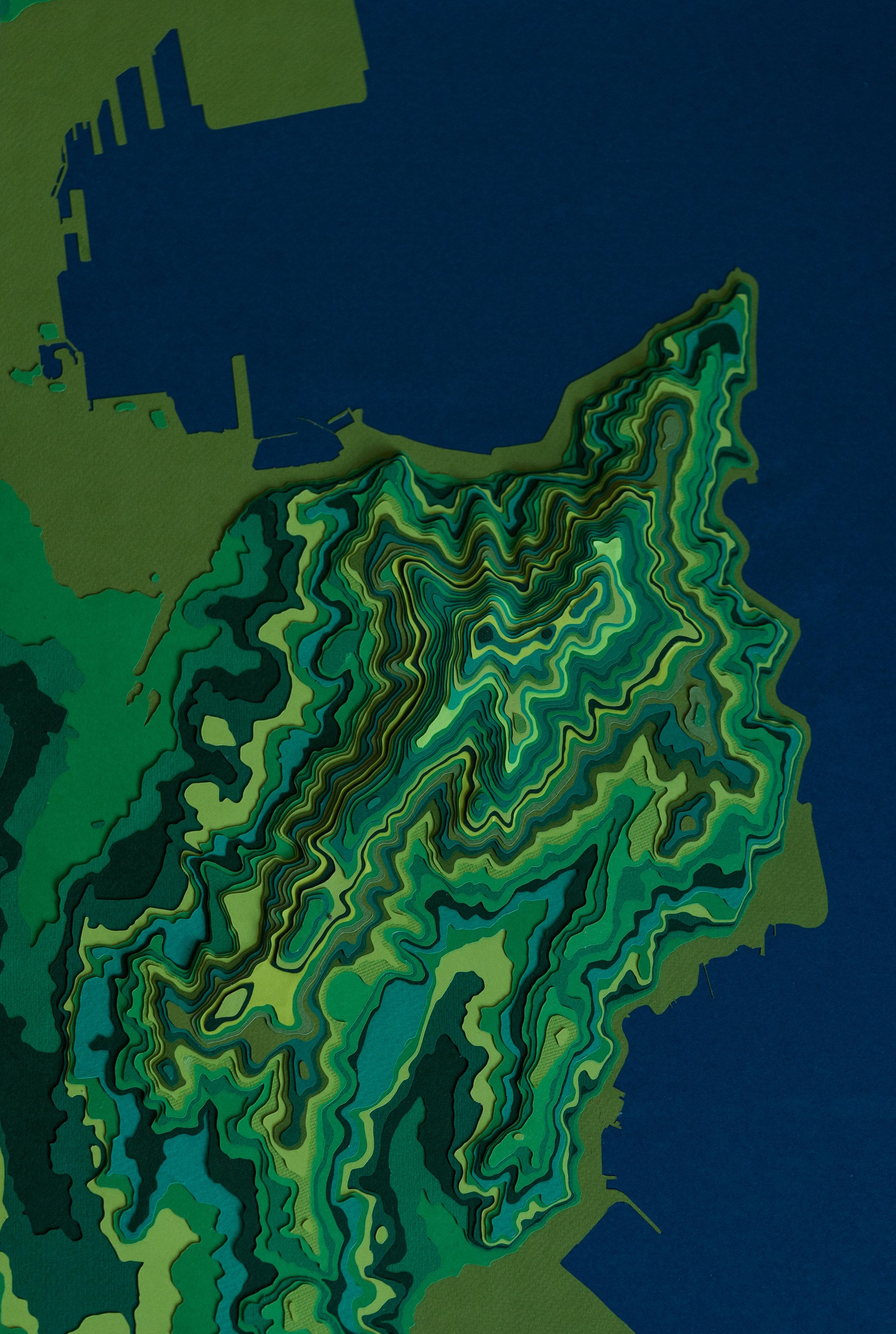 Mt Victoria - Wellington, 5m Intervals