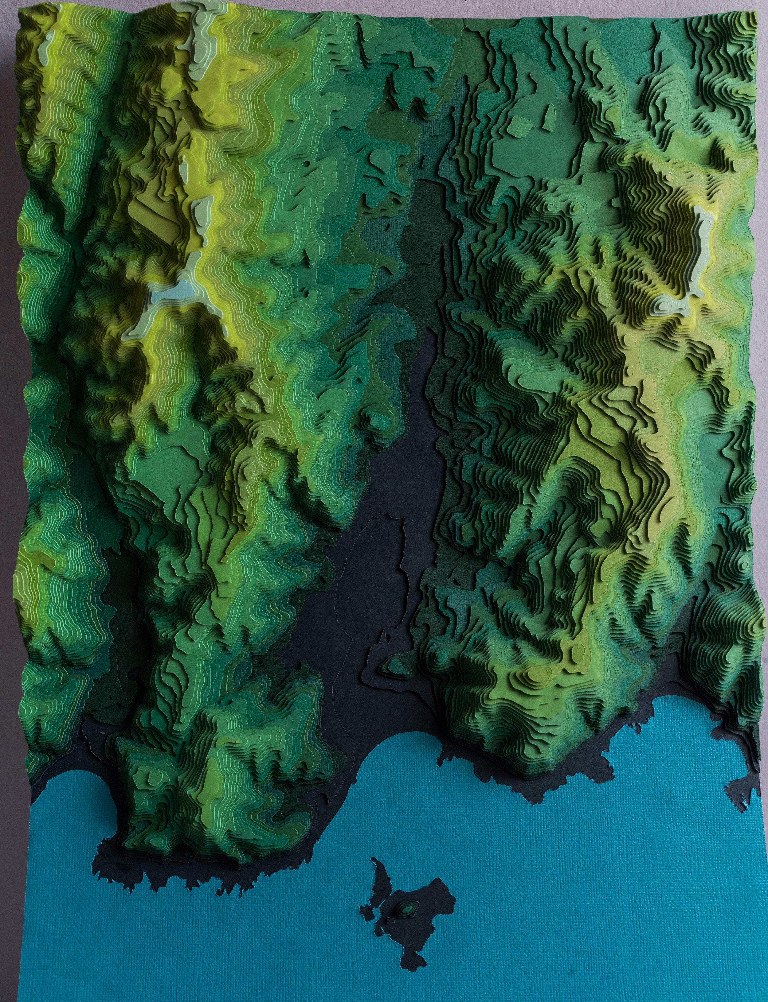 Island Bay - Wellington, 5m Intervals