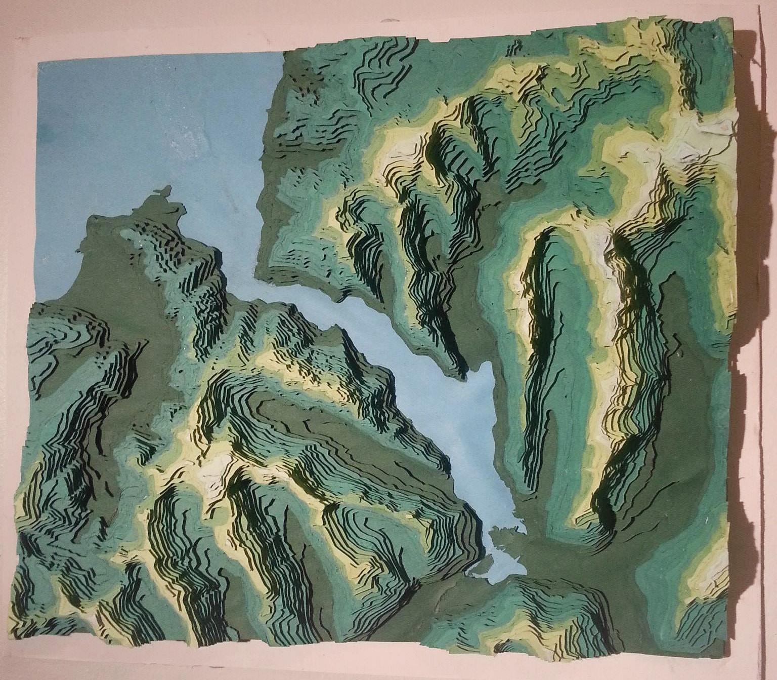 Milford Sound, 100m Intervals