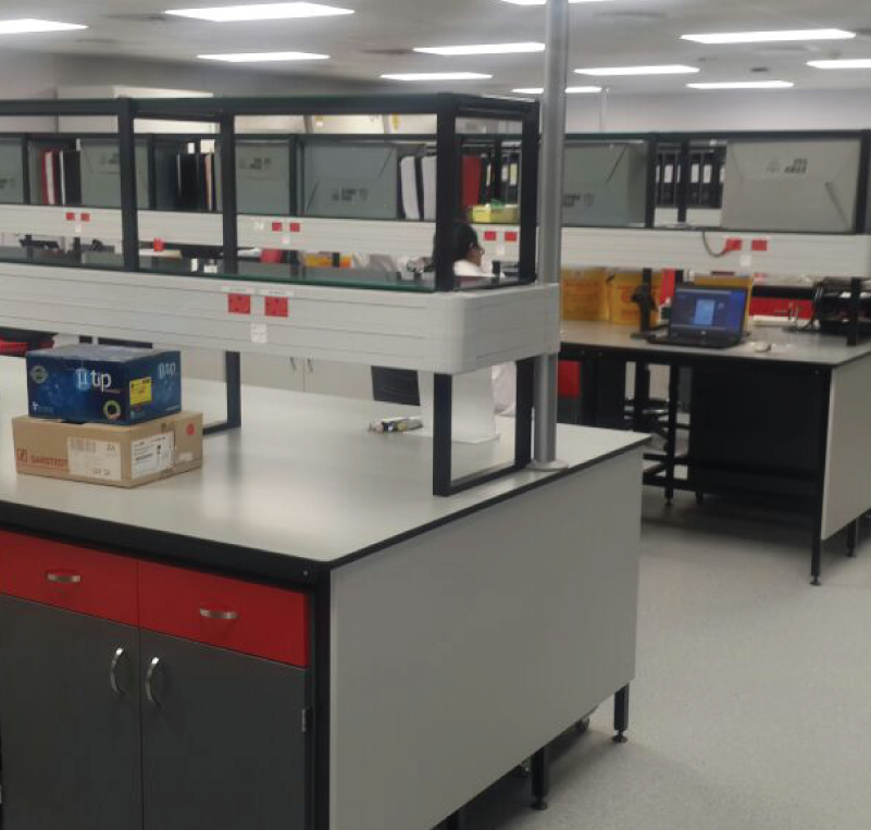 Research/Training labs - Durban, South AfricaCAPRISA – Centre for the AIDS Programme of Research in South Africa. General research laboratory area plus BSL-3 facility.