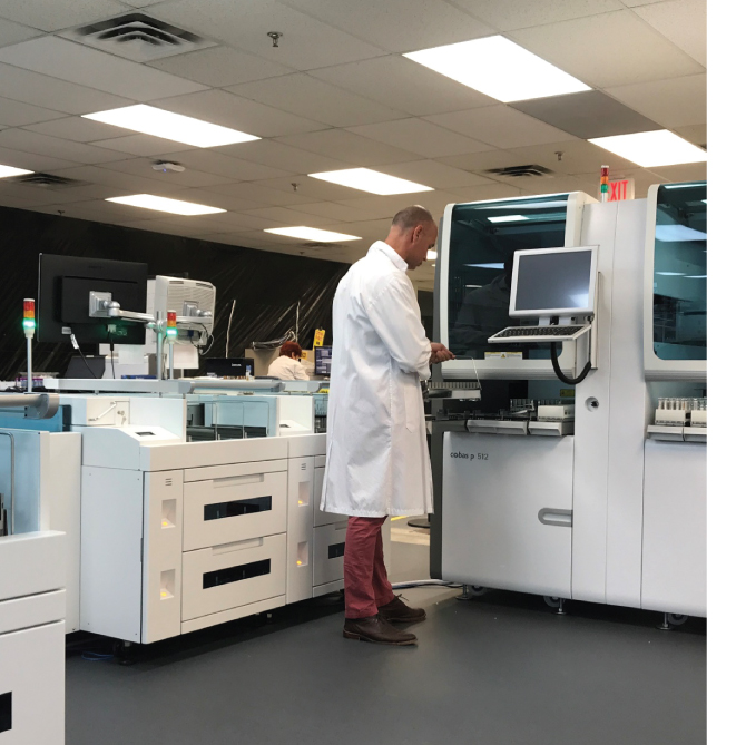 LAB OF THE FUTURE - Dynacare, CanadaHigh volume, consolidated reference laboratory with total lab automation, new middleware, restructured workforce and optimized facilities.