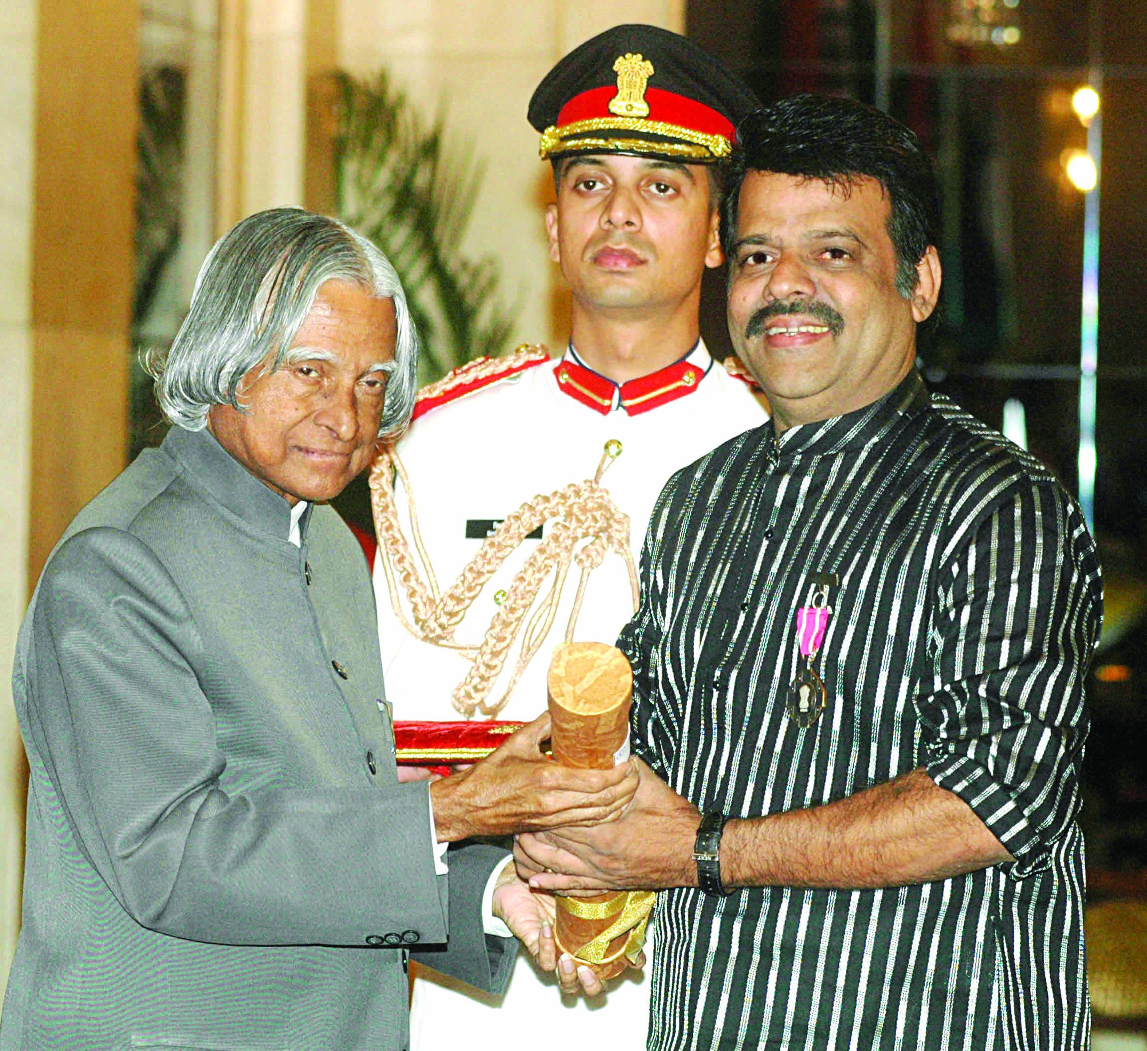 Shri S Balanchandra Menon film Maker( Padma Shri)