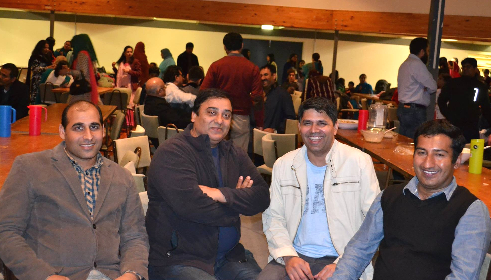 Members of the Pakistani Association of Canterbury NZ during the Eid celebrations held at the Canterbury Horticultural Centre, photo courtesy: PACNZ